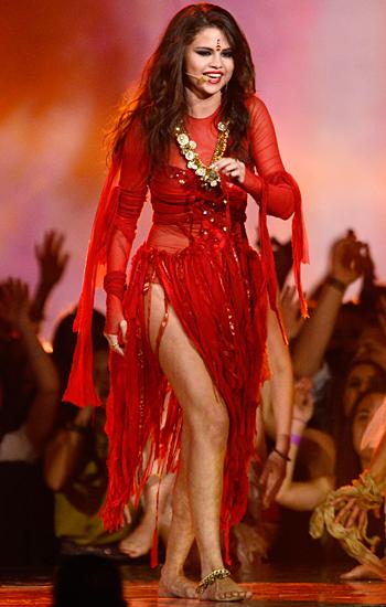 Come Get It Live Selena Gomez Music Video Mtv   Tattoo ...