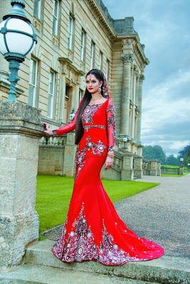 Red Collection – Khushboos by Chand