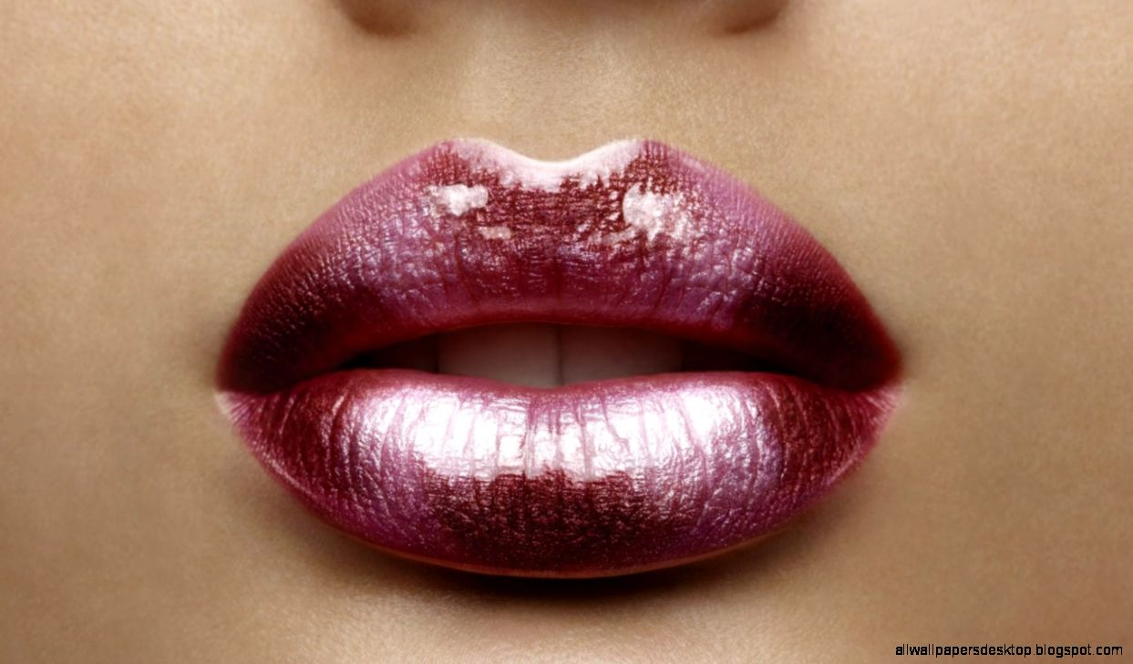 Lips Makeup Of Girl Lips Wallpaper HD Download Desktop