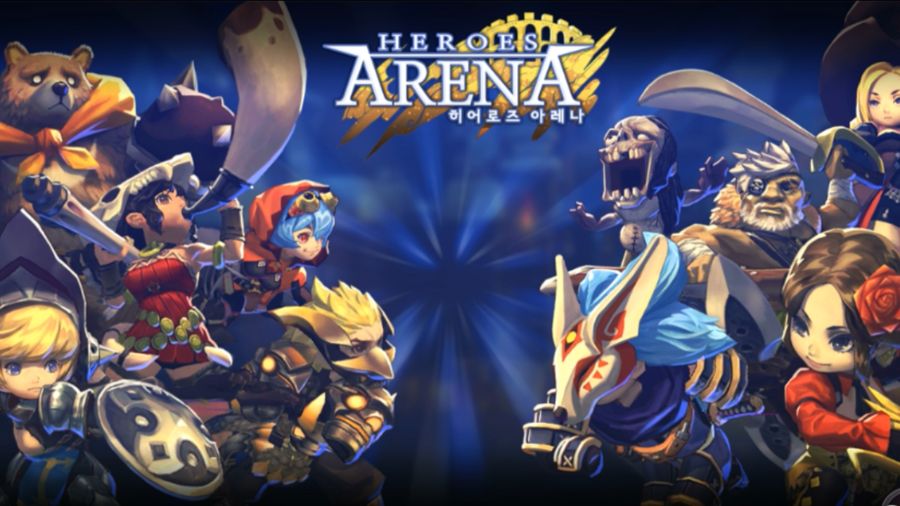 Heroes Arena Gameplay Android
