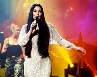 Cher performing 'Gypsies, Tramps and Thieves' on her 'Do You Believe? Tour'