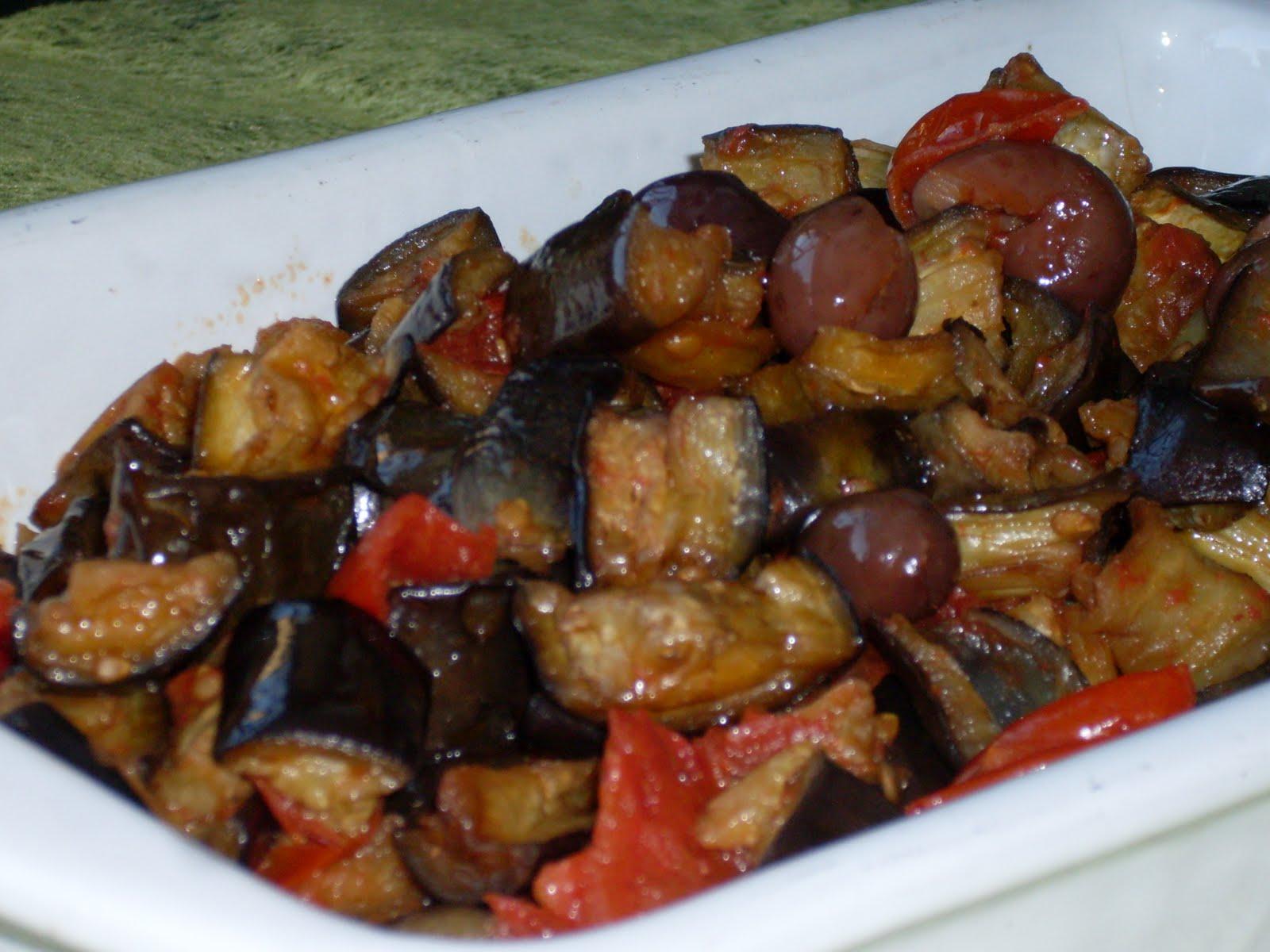 La vispa teresa melanzane a funghetto capperi e olive for Melanzane ricette