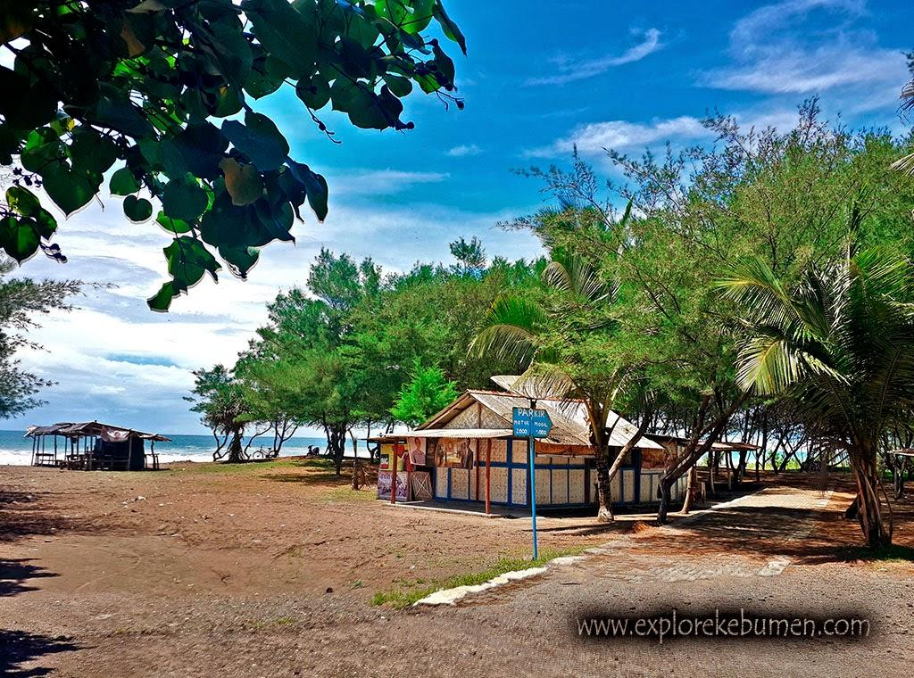 Pantai Bopong Puring Kebumen