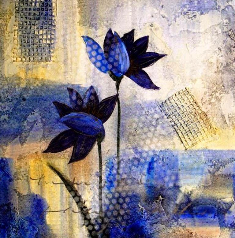 oleos-de-flores-abstractas-modernas