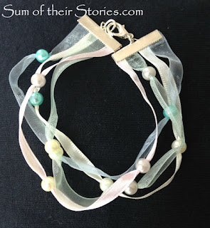 Ribbon bracelet tutorial