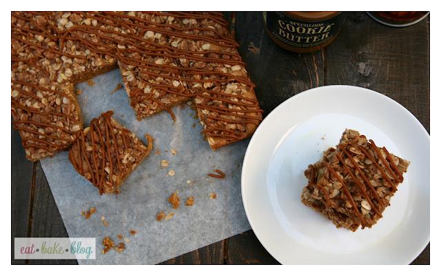 pumpkin streusel cookie butter bars