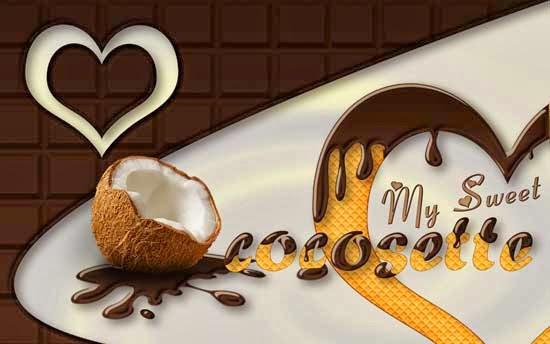 Texto con Estilo de Chocolate y Textura de Galleta 01 by Saltaalavista Blog