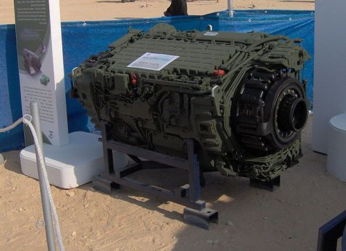 Sistem Transmisi Merkava 4