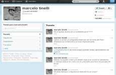 Twitter de Tinelli Marcelo Tinelli abrió su cuenta oficial de Twitter