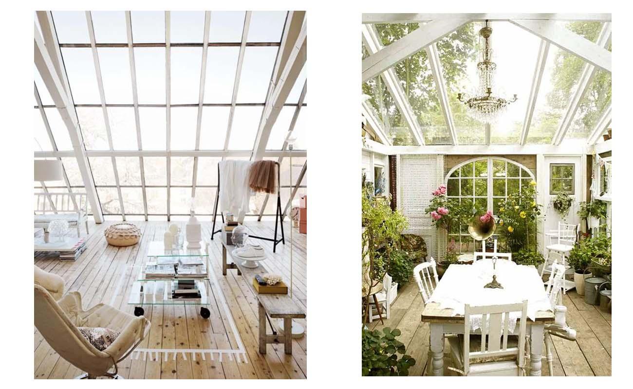 ... ?Se avete una veranda perch? non ci dite come lavete organizzata