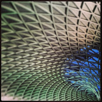 Kings Cross Station roof