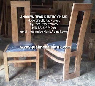 Supplier kursi makan jati tpk kursi makan solid jati tpk kursi makan finishing white rustic jati