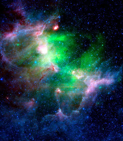 The Eagle Nebula in Infrared