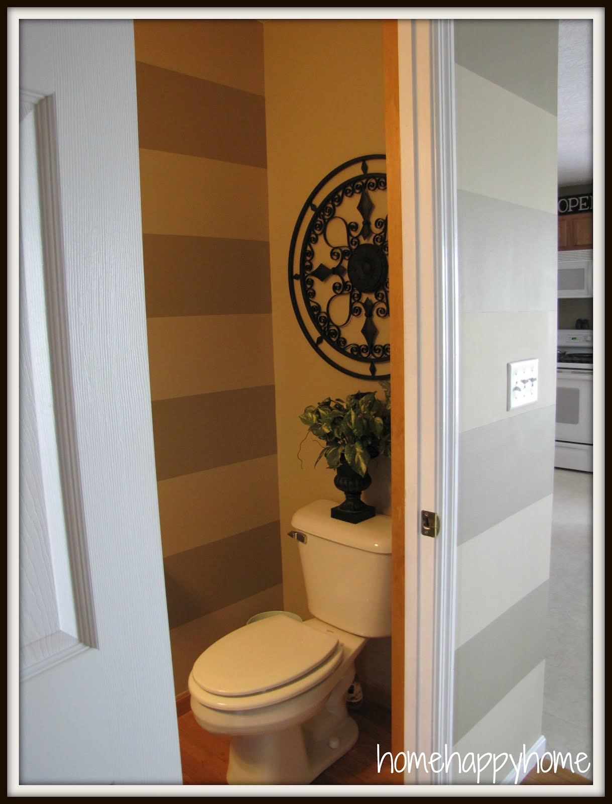 home happy home: Powder room reveal