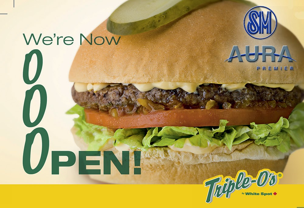 Triple O's Opens at SM Aura Premier