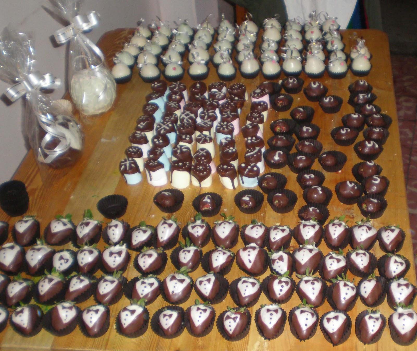 Ideas creativas de mujer decoracion de chocolates - Decoracion con chocolate ...