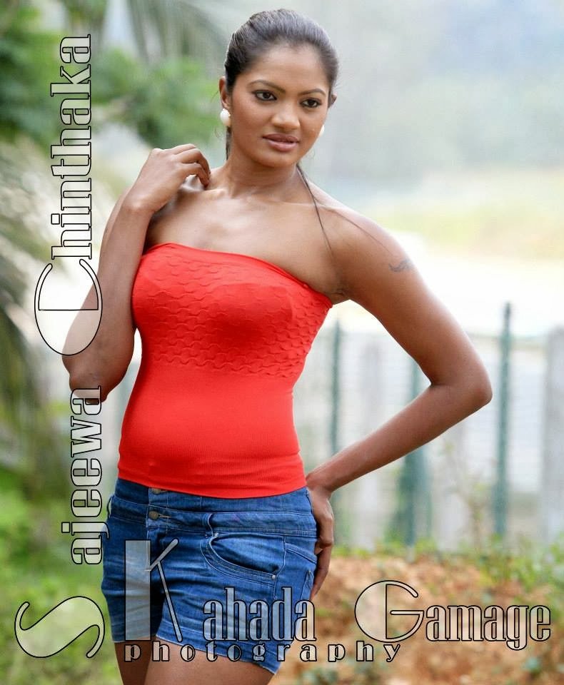 Solange Gunawijeya sri lankan model