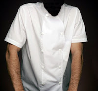 Más información : Chaqueta Blanca de Cocinero de manga corta - NORVIL