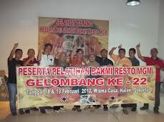 Pelatihan Bakmi MGM Gel-22 Tgl 18 & 19 Februari 2012
