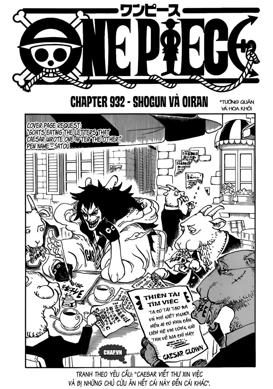 One Piece Chap 932 - Truyen.Chap.VN