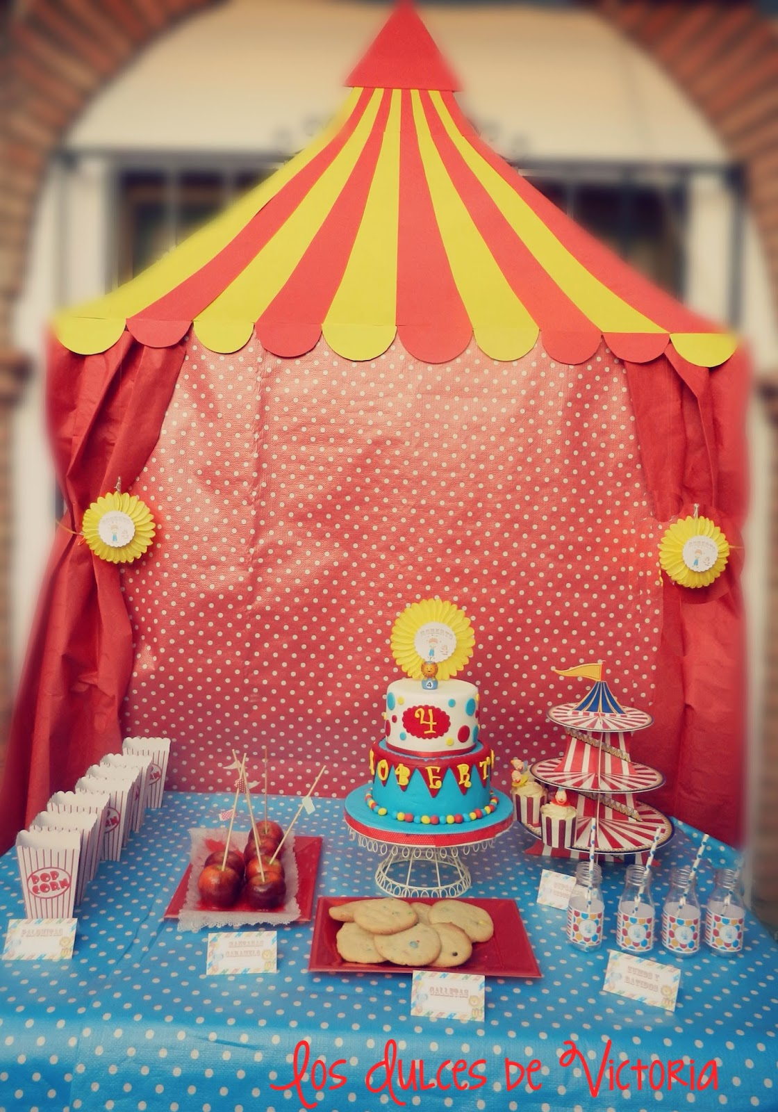 fiesta cumpleaños circo