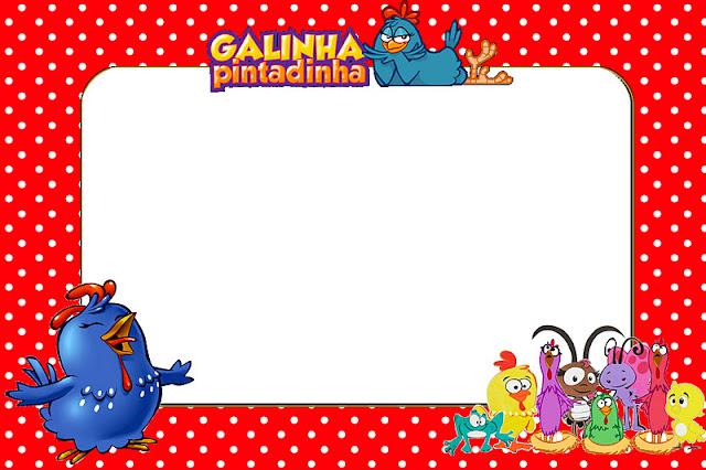 Festa Galinha Pintadinha Convite