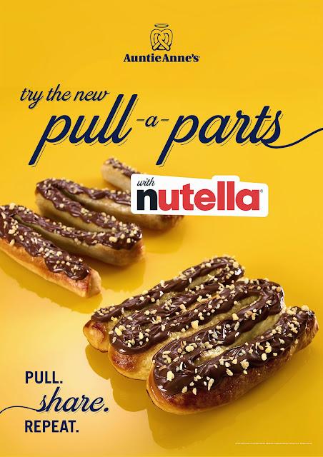 FTW! Blog, Auntie Anne's, Pretzels, Nutella