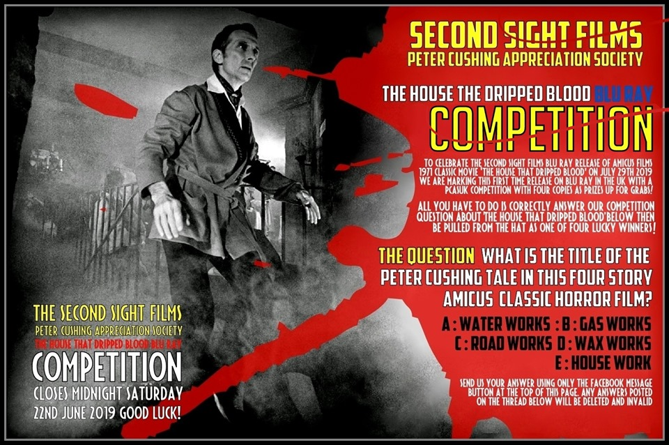 NOW CLOSED! SECOND SIGHT FILMS PCASUK COMPETITION NOW LIVE