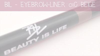 Beauty Is Life - Eyebrow Liner 01C Beige
