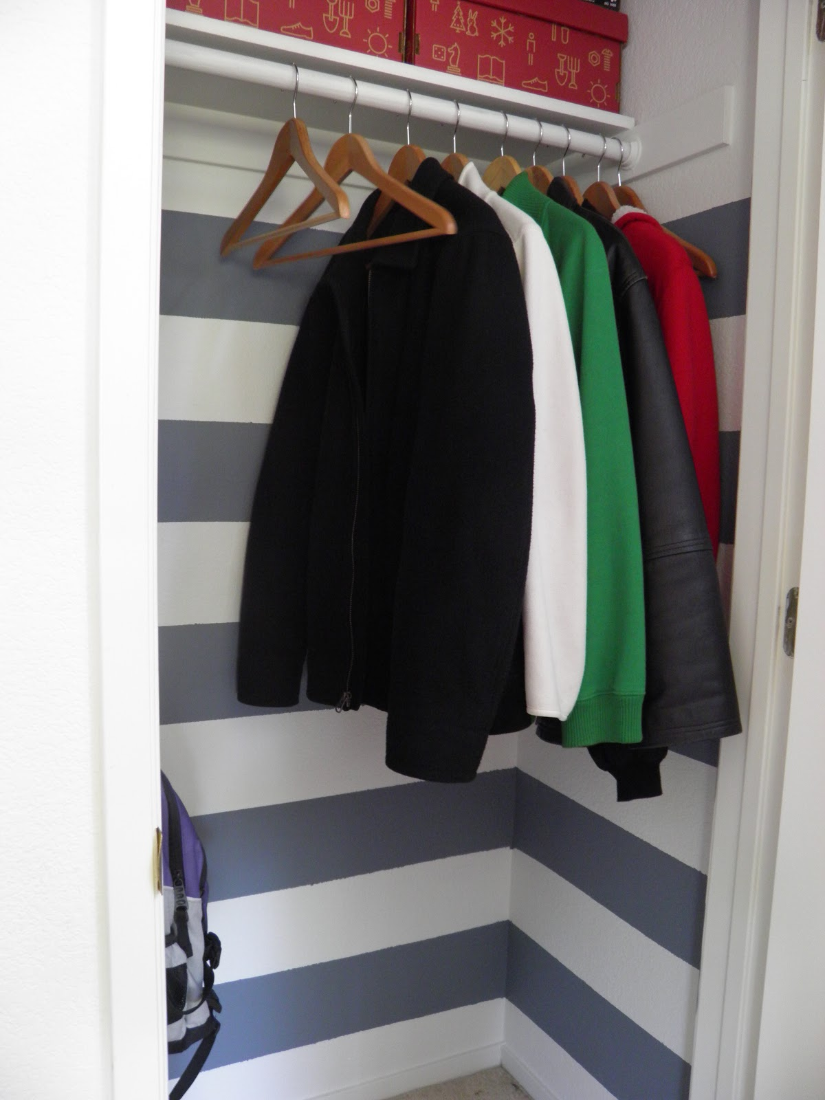 Weekend Tweaks COAT CLOSET MAKEOVER