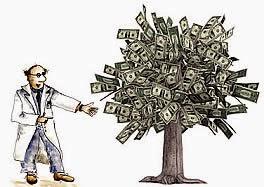 Gana dinero en el árbol de Internet