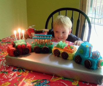 Train Birthday Cakes Decorating Ideas