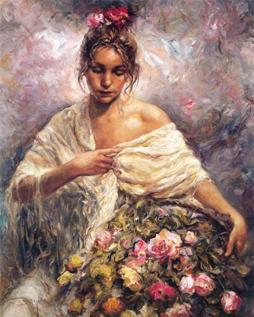 el manton dorado, the golden veil, Jose Royo