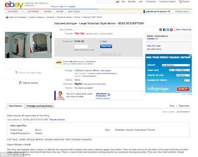 haunted mirror en ebay