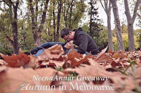 """NeenaAnuar GIVEAWAY """"Autumn In Melbourne""""!"""