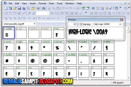 Font Crator 6.5 Full Version ~ Selamat datang