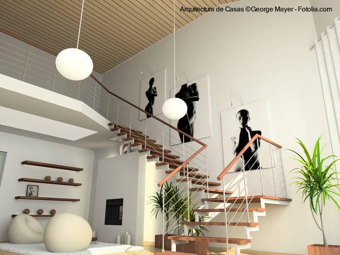 escalera de diseo moderno