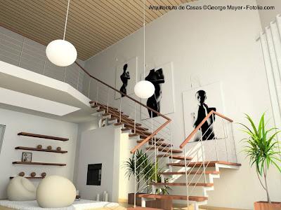 Escalera de diseño moderno