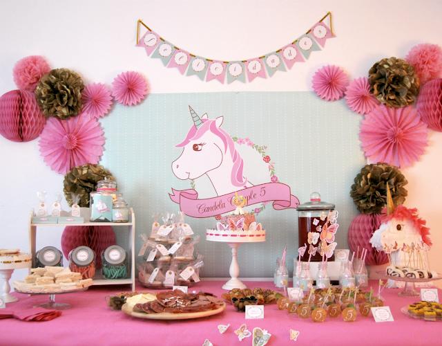 Nina Designs Parties Fiesta Un Cumpleanos Con Tematica Unicornio