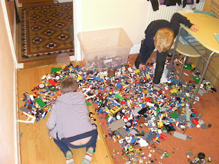 pile of loose lego random