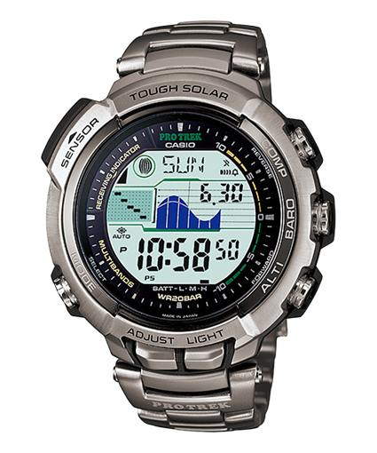 Casio Pro Trek PRX-2500T-7JF Triple Sensor Multi Band 6 Watches