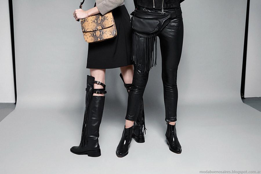 María Cher toño invierno 2015 carteras, zapatos y botas. Moda otoño invierno 2015.