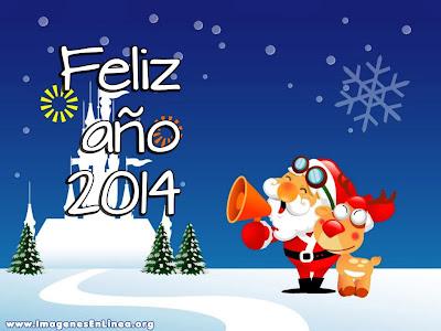 Feliz año nuevo 2014, tarjetas navideñas