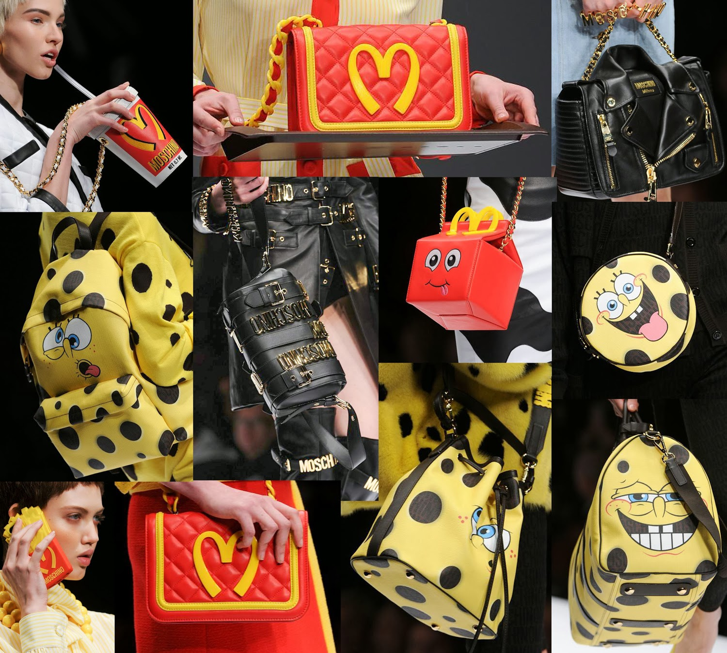 Moschino AW 2014 bags