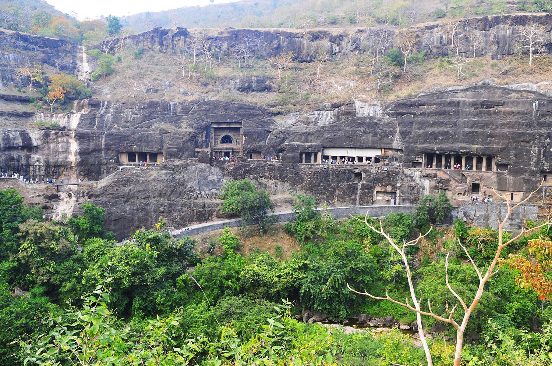 ajanta and ellora caves wallpapers