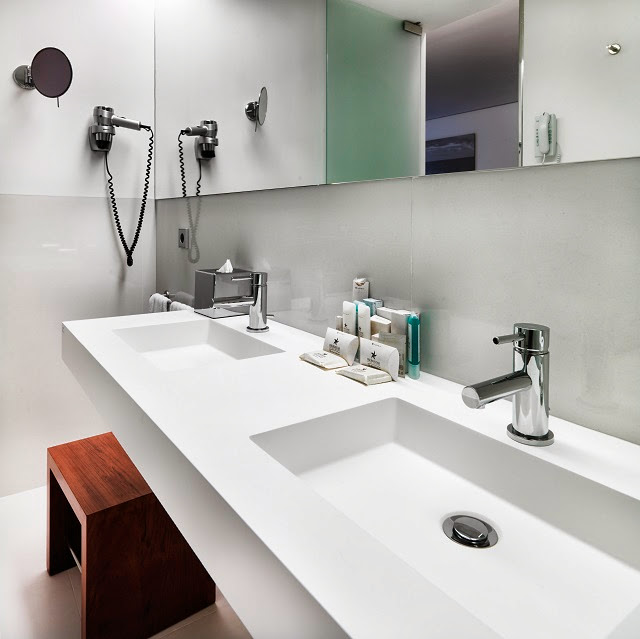 Encimeras Baño Krion:Krion Countertops Bathroom