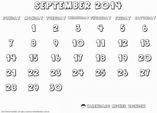 all blank calendar 2013