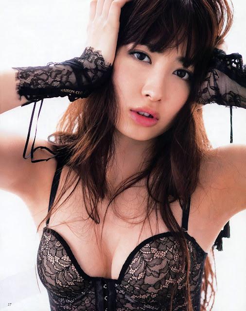 Kojima Haruna para ANAN foto8