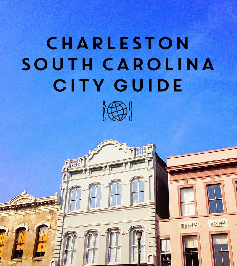 Charleston City Guide by Annie Reeves for The Collaboreat