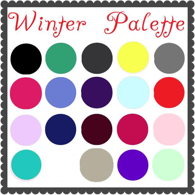Grown Up Dress Up Blog Color Palette Winter